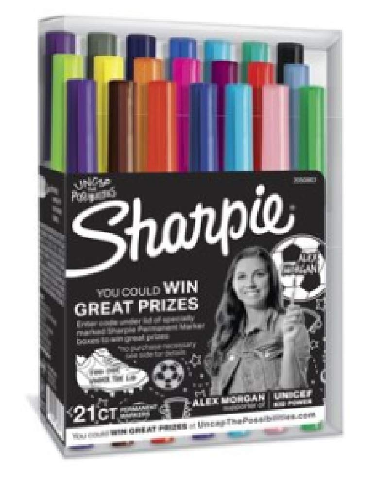 Sharpie Ultra Fine Point Markers 21 Count Regularly $35.12 Now $7.99