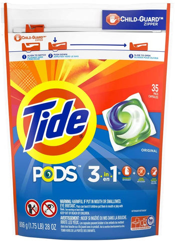 Only $10.79, plus extra 25% coupon on first subscribe and save. Cancel after: Tide PODS Liquid Laundry Detergent Pacs