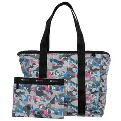 LeSportsac Fashion Backpack Candace Zip Top Tote