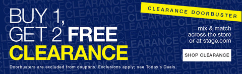 Stage Stores Buy 1 Get 2 Free Clearance Sale Black Friday