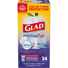 Glad Force Flex Trash Bags Clearance Sale