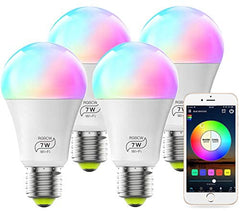 Smart Light Bulb Sale Works With Alexa and Google