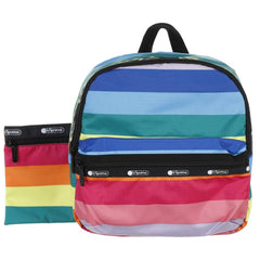 LeSportsac Janis Fashion Backpack Rainbow Stripe