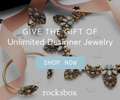 Rocksbox Ladies' Jewelry Rental Subscription Box Service
