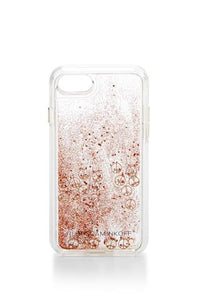 Peace Sign Glitterfall Case For Iphone 7