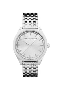 Amari Silver Tone Bracelet Watch, 38mm