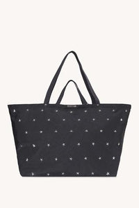 Sienna Nylon Tote With Stars