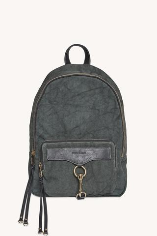 M.A.B. Canvas Backpack