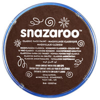 18ml Dark Brown Snazaroo Face Paint