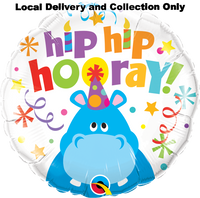 Hip Hip Hooray Foil Balloon