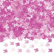 Shimmer Pink 30th Metalic Confetti (14g)