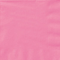 Hot Pink 2ply Luncheon Napkins