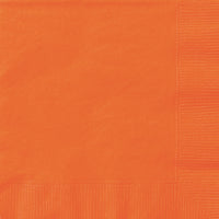 Pumpkin Orange 2ply Luncheon Napkins