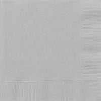 Silver 2ply Luncheon Napkins