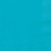 Caribbean Teal 2ply Luncheon Napkins