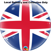 Union Jack Bubble Balloon
