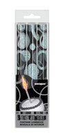 Black Ice Fountain Candles pk3