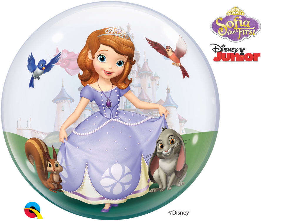Sofia Bubble Balloon