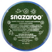 18ml Dark Green Snazaroo Face Paint