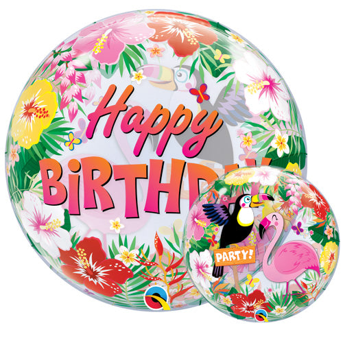 Tropical Birthday Balloon