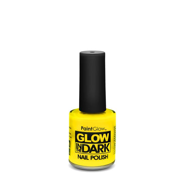 Glow In The Dark Nail Varnish Yellow