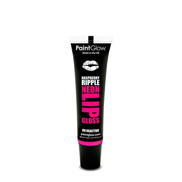 Neon UV Lip Gloss Rasberry Ripple
