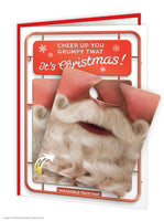 Cheer up Grumpy T*at Face Mat Card