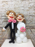 Table Top Small Bride & Groom Wowzer Set