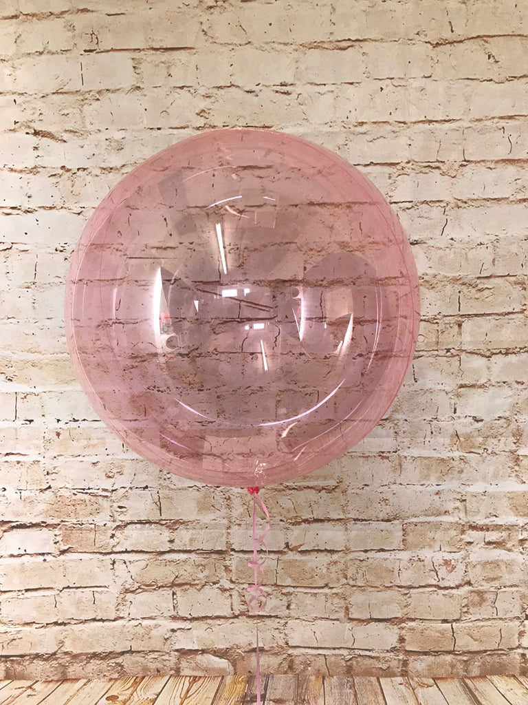 "18"" Crystal Clearz Balloon - Pink"