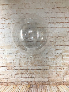 "18"" Crystal Clearz Balloon - Clear"