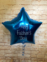 Father's Day Personalised Foil Star