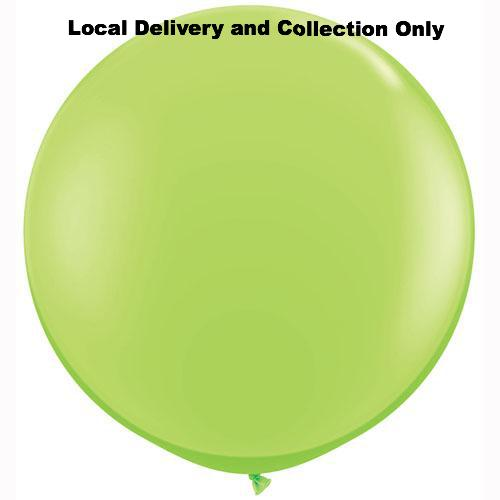 3' Lime Green Latex Balloon