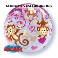 Love Monkeys Bubble Balloon