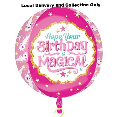 Orbz Magical Birthday Foil Balloon