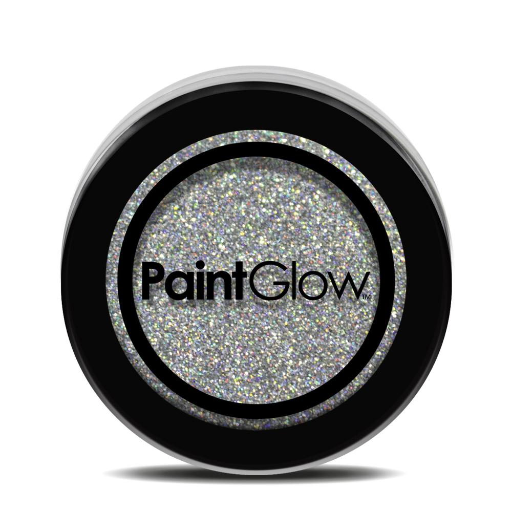 Silver Loose Holographic Glitter Shaker