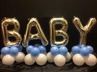 Baby Letters Balloon Decoration