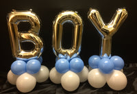 Boy Letters Balloon Decoration