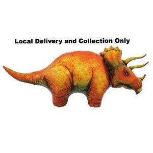 Triceratops Dinosaur Supershape Foil Balloon