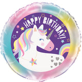 "18"" Cosmic Unicorn Birthday Foil Balloon"