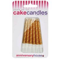 Gold Candle (Pack of 12)