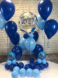 Blue Happy Birthday Party Package