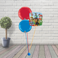 Paw patrol balloon cluster