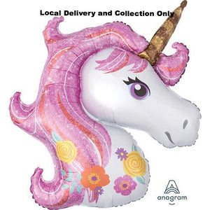 "33"" Magical Unicorn Supershape Foil Balloon"