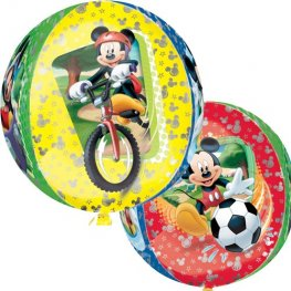 "15"" Mickey Mouse Orbz Foil Balloon"