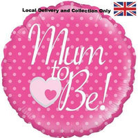 Mum To Be Pink Foil Balloon