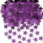 Purple Star Metalic Confetti (14g)