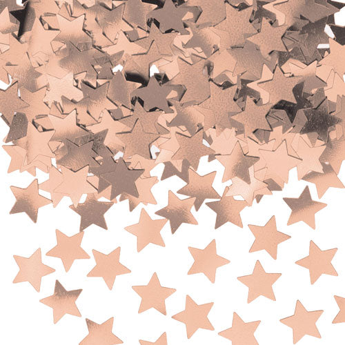 Rose Gold Star Metalic Confetti (14g)