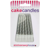 Silver Candle (Pack of 12)