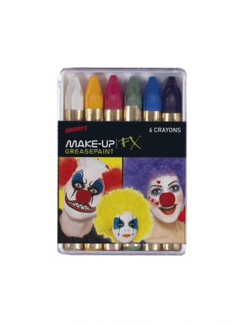 FX Carnival Face/Body Crayons by Smiffys