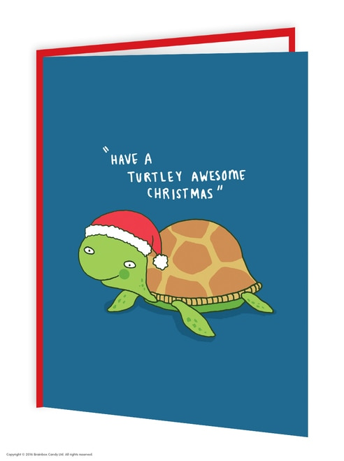 Turtley Awesome Christmas Card